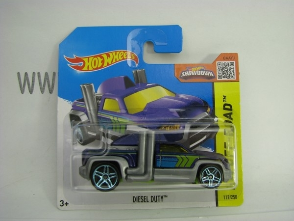Hot Wheels 2015 Diesel Duty HW Off-Road CFK64